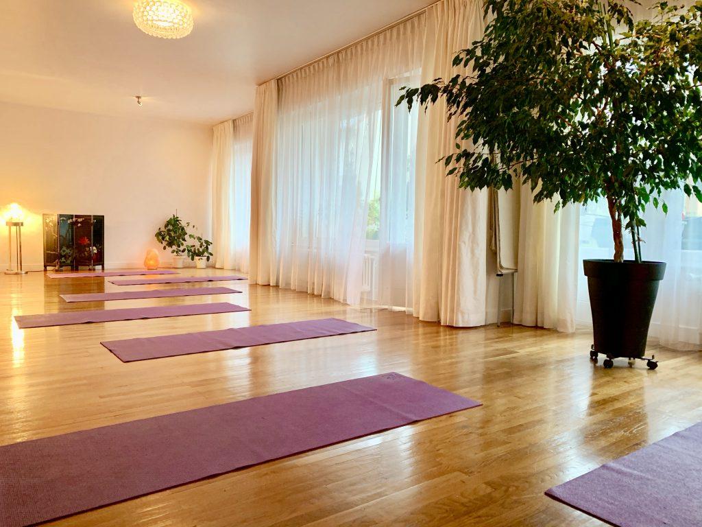 La salle de yoga rue de Bonlieu Annecy